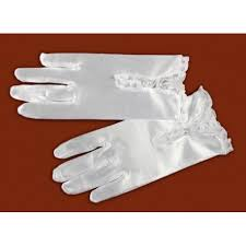 communion gloves satin communion gloves with lace