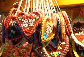 traditional german handmade gingerbread used as