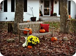 fall decorations for outside outdoor decorations part 2 laughing abi