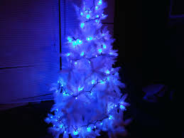 and white christmas lights blue and white christmas lights tree wire led comexchange info