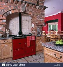 kitchen feature wall ideas red tiles for kitchen backsplash exciting simple design likable