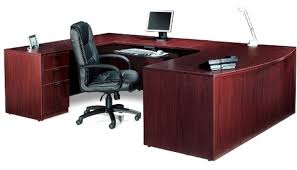 U Shaped Desk U Shaped Executive Desk With Drawers Sl7148bcl