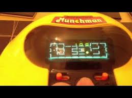 grandstand munchman retro 80 u0027s pac man table top game youtube