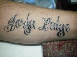 tattoo script fonts tattoo collections