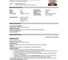 undergraduate curriculum vitae pdf exles undergraduate resume format template fascinating graduate student