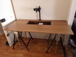 fabriquer bureau sur mesure superior pc bureau sur mesure 4 le boitier mesure 1700 x 800mm