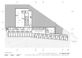 Residential Building Floor Plans by Elderly Residential Building Atelier D U0027arquitectura J A Lopes