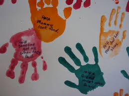 handprints helping hands craft addition from the good samaritan lesson