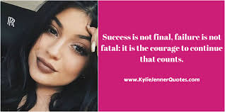 beauty makeup quote gingham and sparkle kylie jenner quote