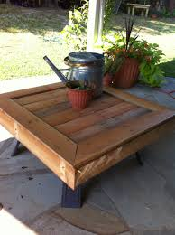 Patio Made Out Of Pallets by Table Top Made Out Of Pallet Wood To Place Over Fire Pit When Fire