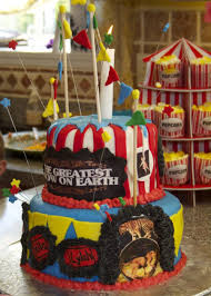 carnival themed birthday cake cakecentral com