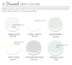 Neutral Paint Colors For Kitchen - best white paint color for kitchen cabinets u2013 colorviewfinder co