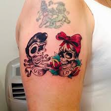 grant butler on did these traditional rockabilly skulls