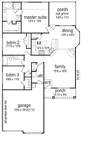 home design for 1500 sq ft three bedroom craftsman under 1 500 sq ft hwbdo65710 prairie