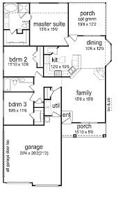 1500 sq ft home plans three bedroom craftsman 1 500 sq ft hwbdo65710 prairie