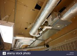 exposed insulated heating and ventilation ducts high canada