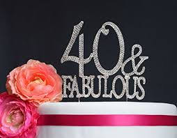 40 cake topper 40th birthday cake toppers shop 40th birthday cake toppers online