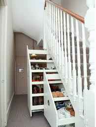 amazing under stairs storage with sliding design creative storage