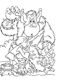 gummi bears coloring pages for kids printable free coloring