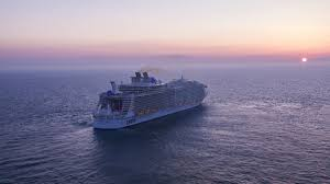 harmony of the seas is the biggest cruise ship in the world
