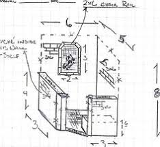 Tiny Bathroom Floor Plans Dimensions For Bath With Doorless Shower 3x5 Minimum But Will