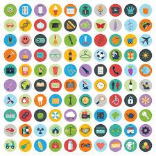 icone de bureau gratuit ensemble de web et de la technologie des icônes de développement