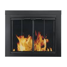 Custom Size Fireplace Screens by Shop Fireplace Doors At Lowes Com
