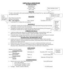 Skill Based Resume Example by Examples Of Resumes Driver Resume Cv Format In Dubai Templates