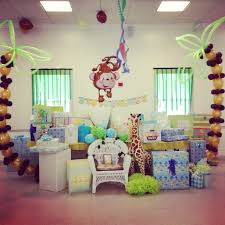 baby shower table decoration interior design awesome jungle theme baby shower table