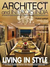 home interior magazines 16 best architect and interiors india magazine images on