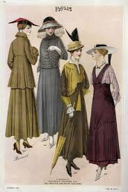 vintage clothes fashion ads of the 1910s