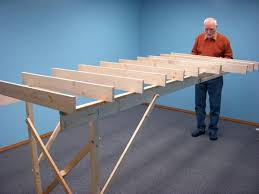 fold up train table the salt lake route part 2 benchwork with folding legs