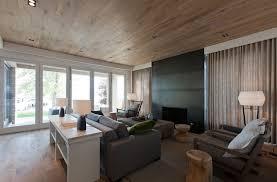 room creative living room wood ceiling design decorate ideas