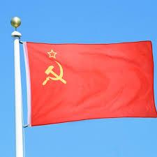 Poly Flag 3x5 Feet Red Revolution Union Of Soviet Socialist Republics Super
