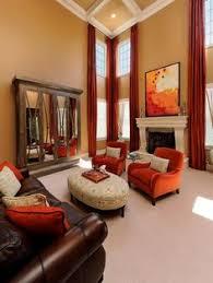 burnt orange paint color burnt orange accent wall that