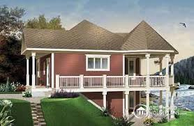 lakefront home plans lakefront home designs waterfront cottage house plans from