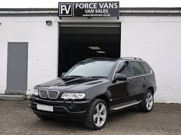 bmw van used bmw x5 2001 for sale motors co uk