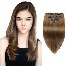 How To Use Remy Clip In Hair Extensions by Clip In Hair Extensions 100 Human Remy Clip In Hair Extensions
