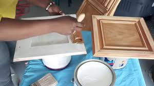 Paint Your Own Kitchen Cabinets How To Paint Your Kitchen Cabinets Diy Part 2 Youtube