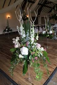 giant martini flower design wedding ceremony styling giant martini vases on