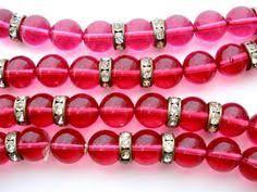 Antiqued Pink And Fuschia Beaded Vintage Pink Rhinestone Enamel Earrings Gilded Brass Screwback