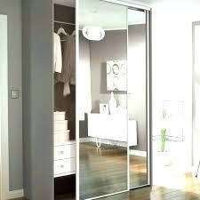 Mirror Sliding Closet Doors Sliding Closet Doors For Bedrooms Beveled Edge Mirror Solid