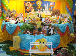 baby looney tunes baby shower decorations looney tunes party decoration tips kids party ideas themes