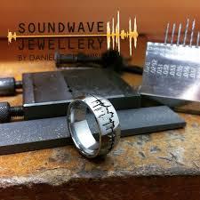 custom metal rings images 111 best custom soundwave wedding engagement rings images on jpg