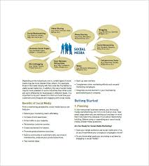 Plan Social Media Social Media Marketing Plan Template U2013 8 Free Word Excel Pdf