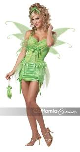Halloween Costumes Tinkerbell Adults Green Fairy California Costumes