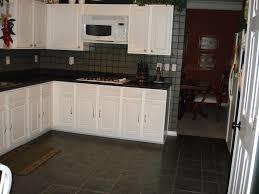 Kitchen Tiles Floor Design Ideas Black Tile Flooring Kitchen With Agreeable Design Ideas Using