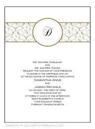 Design Wedding Cards Online Free Wedding Invitation Template Free Download Kmcchain Info