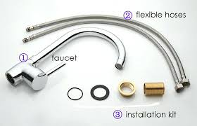 how to install faucet in kitchen sink breathtaking install kitchen faucet replace garbage disposal with