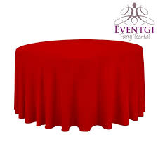 Table Cloth Rental by Red Round Tablecloth For Rent In Miami Broward County Palm